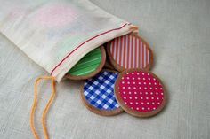 Rainbow Wooden Travel Memory Game For Kids by TheSpottedMushroom, $9.00