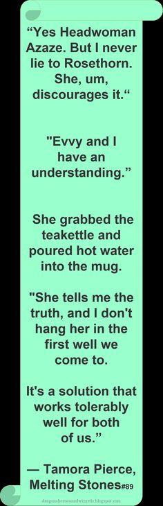 ♥ Tamora Pierce ♥ ~ #Quote #Author #Funny