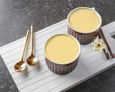 Crème façon danette vanille au thermomix. Je vous propose une recette de dessert, une crème façon danette à la vanille. Une recette Facile.