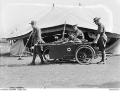 Army Medic, Anzac Day, Vintage Bikes, Sidecar, Antique Cars, Motorcycles, Military, War, Memories
