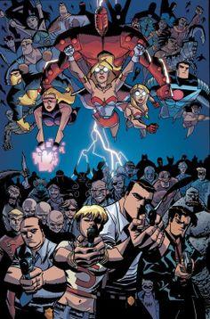 The Powers Universe - Michael Avon Oeming