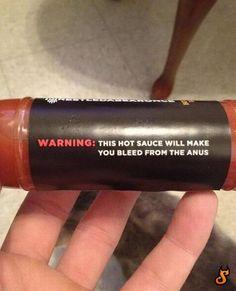 Dit zou wel eens hele pittige saus kunnen zijn!
