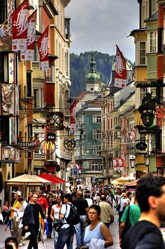 Innsbruck Austria is one of my favorite places I went to in Europe in 2012. One day I hope to return.   #famfinder