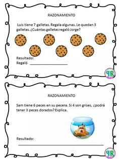 Problemas para I grado | Profe Yano 1st Grade Math Worksheets, Math 2, Math Class, Math Skills, Kindergarten Math, Maila, Math Facts, Math For Kids, Teaching Spanish
