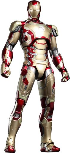 Marvel Iron Man Mark XLII (42) Sixth Scale Figure by Hot Toy | Sideshow Collectibles