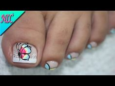 Heat Up Your Life with Some Stunning Summer Nail Art Pedicure Nail Art, Toe Nail Art, Toe Nails, Cute Pedicure Designs, Toe Nail Designs, Perfect Nails, Gorgeous Nails, French Tip Nails, Cute Acrylic Nails