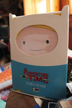 Adventure Time Season 1 DVD arrived today and has... - It's a kind of fruitcake