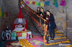 Celebrating mexican tradition of Day of the Dead (día de muertos) in Morelia, México. #asiainmexico #integratemexico