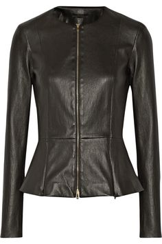 The Row | Anasta leather jacket  | NET-A-PORTER.COM $2790