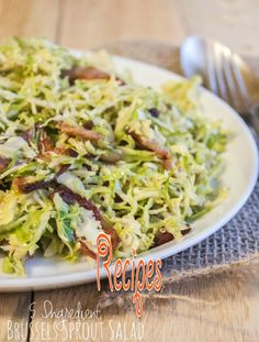 5-Ingredient-Brussels-sprout-salad  Follow us for more Recipes in our website : http://best-recipes0.blogspot.com/
