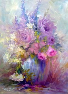 Lilac And Pinks, Butterscotch And Cream~ Jenkins