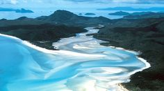 Beautiful Whitsunday Islands
