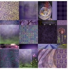 sleepless night #collage #purple #quilt #art