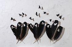 Maravilloso arte creado con plumas - Artículo de Curiosidades - - Videisimo