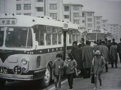 昭和30年代の阪神バス