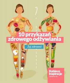 10 przykazań zdrowego odżywiania Healthy Recipes, Healthy Food, Workout, Learning, Clothes, Healthy Foods, Outfits, Clothing, Work Out