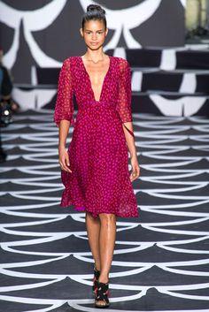 NYFW Fall 2014: Diane Von Furstenberg
