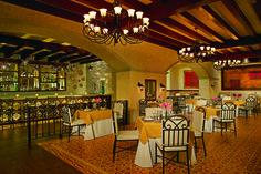 The El Patio Restaurant at the Secrets Puerto Los Cabos.