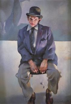 Les Ryder Just Out of Prison. Local Painters, Portrait Art, Portraits, Bibliophile, Figurative Art, Prison, Modern Contemporary, Artists, Fictional Characters