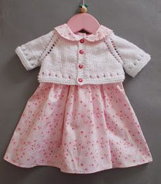 Mini Maxine         I love to see little girls in pretty dresses             Most dresses look great with short cardigans           Th...