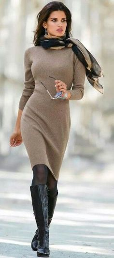 Winter Dresses That Will Actually Keep You Warm