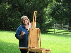 Annie Strack Painting En Plein Air http://www.jacksonsart.com/blog/2014/05/19/annie-strack-q/