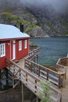 Seaside, Lofoten Islands, Norway