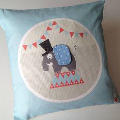 Elephant Character Cushion