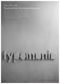 Typomania - poster on Behance