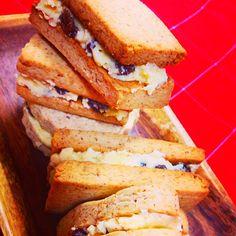 江里子's dish photo ラムレーズンバターサンドクッキー!