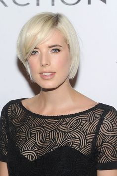 Agyness Deyn. | 21 Incredible Pixie Cut Transformations