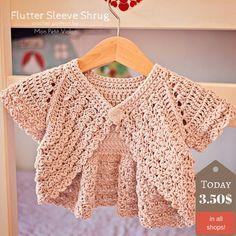 How to make perfect Flutter Sleeve Shrug? That's easy! | Mon Petit Violon | Bloglovin'