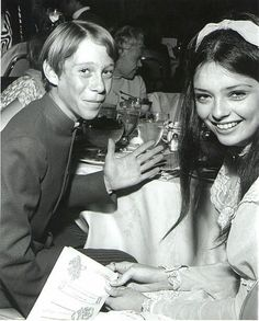 Bill Mumy and Angela Cartwright having fun off camera. Lost in Space actors