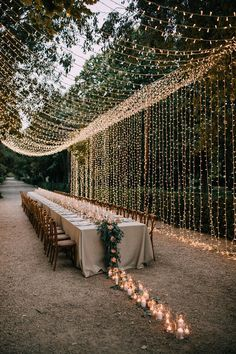 fairy lights, palacio villa hermosa, destination wedding, inspiration, inspiracion, inspo, crossback, planner, zaragoza, boda | Photo by Pablo Laguia