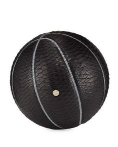 Elisabeth Weinstock Python Basketball & Hoop Set, Black, gifts for men, gifts for him, gifts for boyfriend, gifts for father, gifts for dad