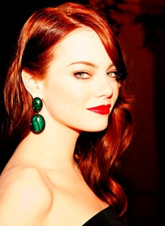 Emma Stone - one of my favorite redheads