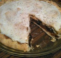 French Apple Pie-mama used to work at a bakery that made this pie...delicious!