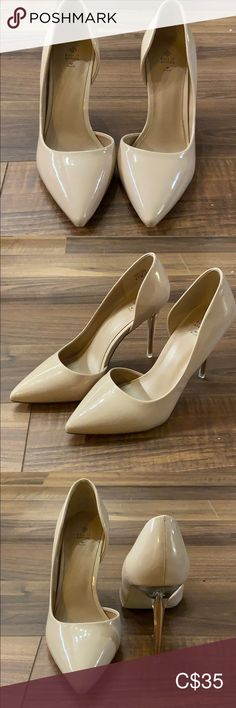 Beige pumps Pointed toe beige pumps Call It Spring Shoes Heels Beige Pumps, Shoes Heels, Flats, Spring Shoes, Toe, Best Deals, Closet, Things To Sell, Fashion