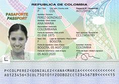 Pasaporte colombiano