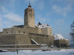 A castle on the hill in Forchtenstein, Austria, on a beautiful winter Saturday of January Austria, Four Corners Monument, Feldkirch, Salzburg, Tower Bridge, Continents, Budapest, Places To See, Medieval