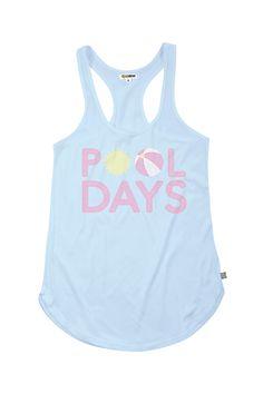 Women's Pool Days Tank Top | Tipsy Elves