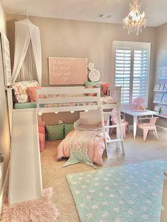 Fun addition to a little girl room!