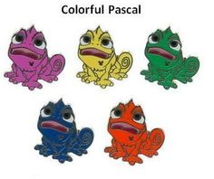 **2014 Hidden Mickey Pins Wave A Colorful Pascal Disney World Resort.PNG