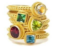 Product and Trends for Jewelry Retailers - Stackable Rings