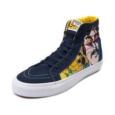 Vans Sk8 Hi Beatles Faces Skate Shoe Vans Sk8 80267d767