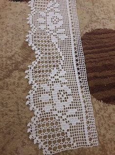 How to make an invisible decrease in single crochet Crochet Boarders, Crochet Lace Edging, Crochet Stitches Patterns, Doily Patterns, Baby Knitting Patterns, Crochet Designs, Crochet Doilies, Crocheted Lace, Crochet Bedspread