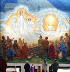 Archbishop of Tuam unveils magnificent artwork made up of 1.5 million individual pieces of mosaic