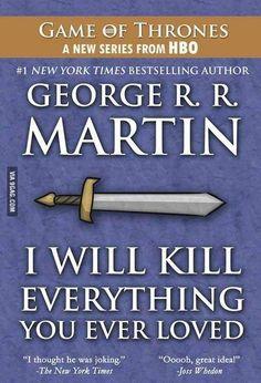 George R. R. Martin's new book..