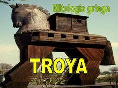Mitología griega TROYA.