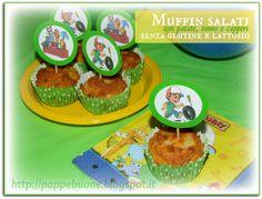 Muffin salati con tonno, patate e capperi (senza glutine e lattosio) festa Handy Manny